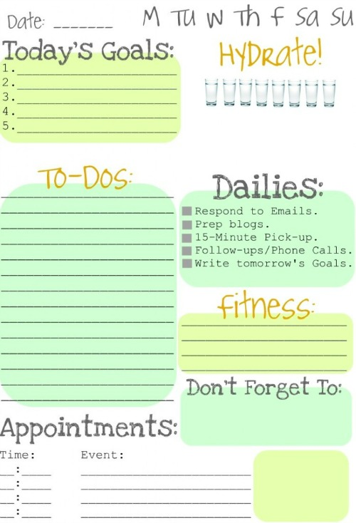 Making To Do Lists Fun - Clean and Scentsible