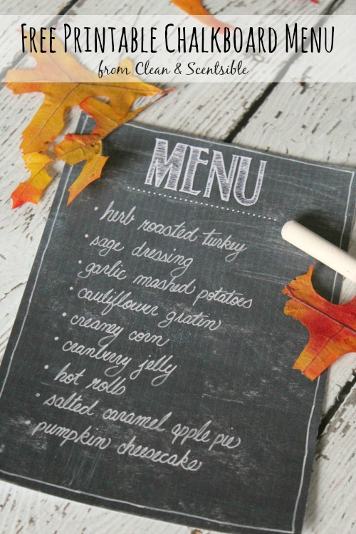 Thanksgiving Table Setting Ideas - Clean and Scentsible