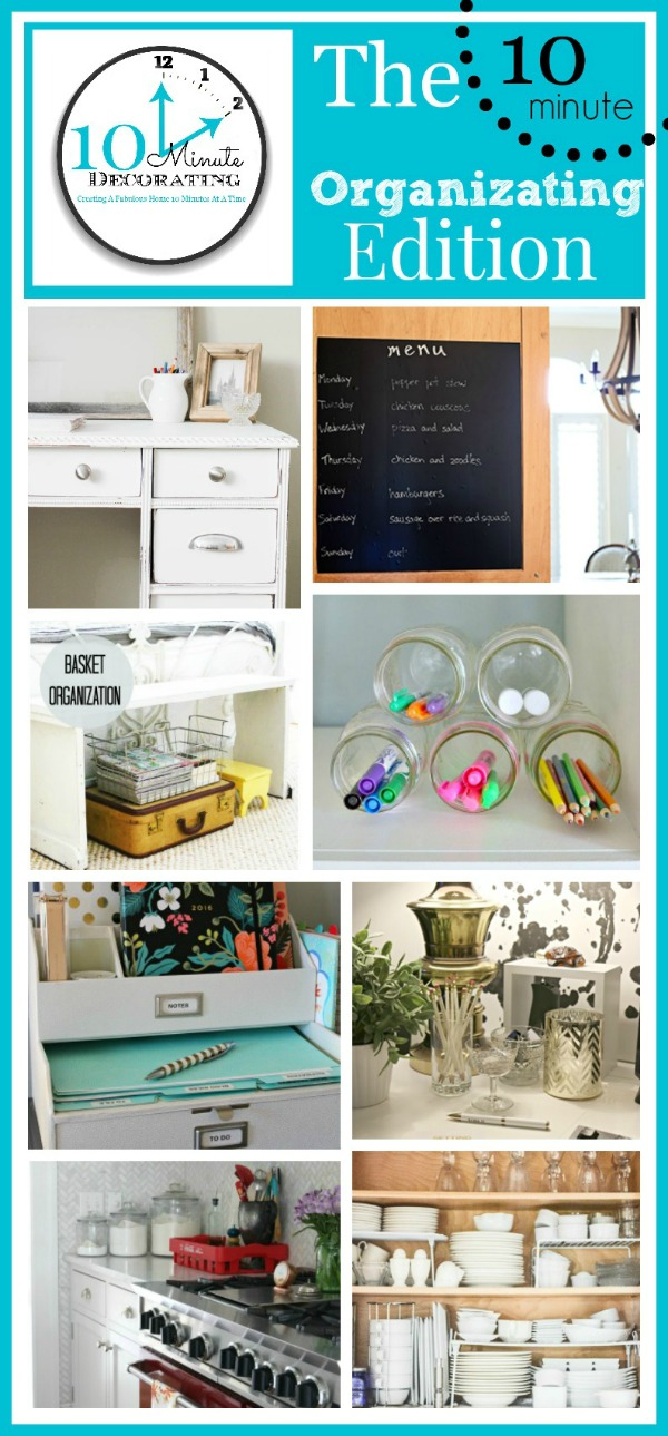 Small Desk Organization Ideas - Clean and Scentsible