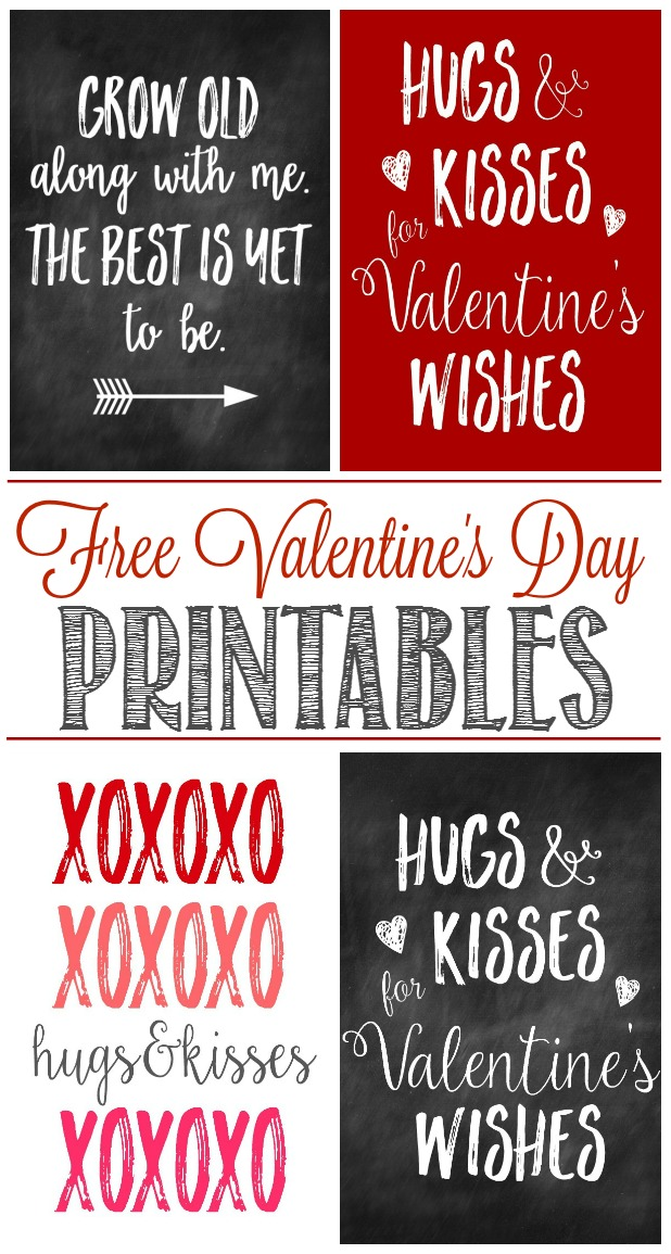 Free Valentine\u0027s Day Printables - Clean and Scentsible