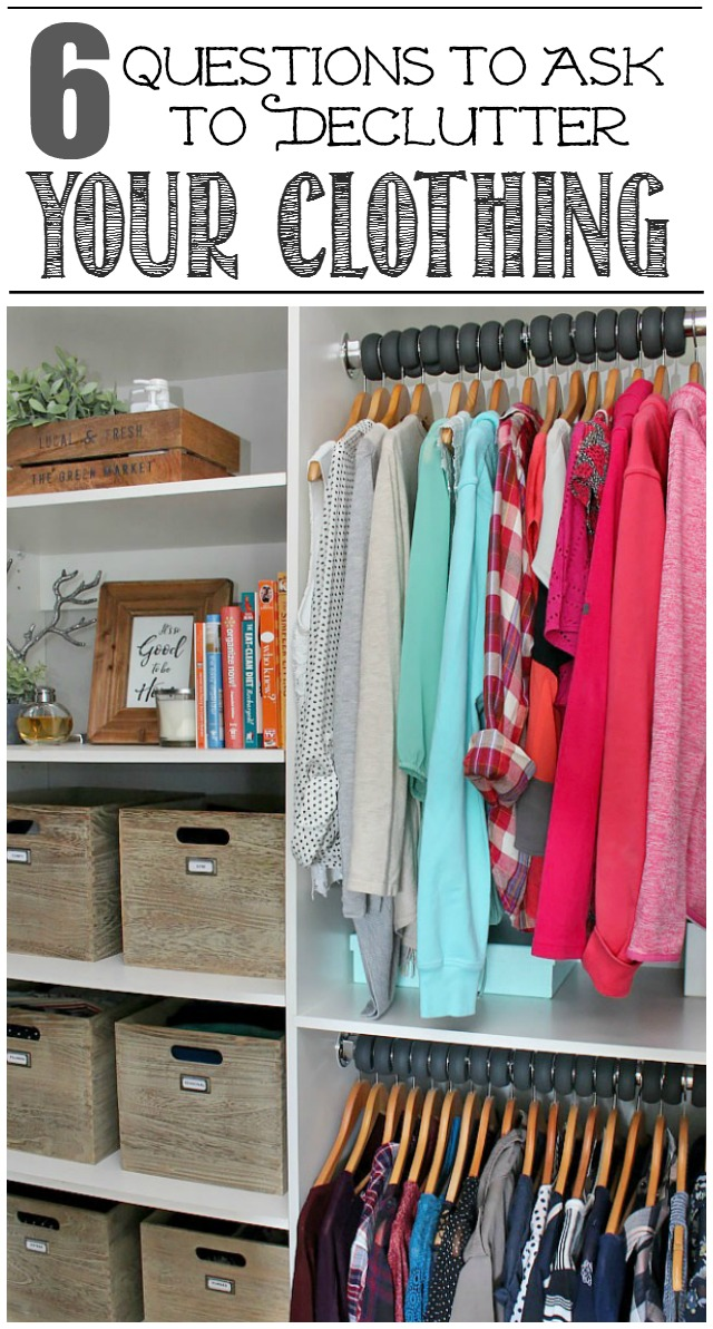 How to Declutter Your Clothing - Clean and Scentsible