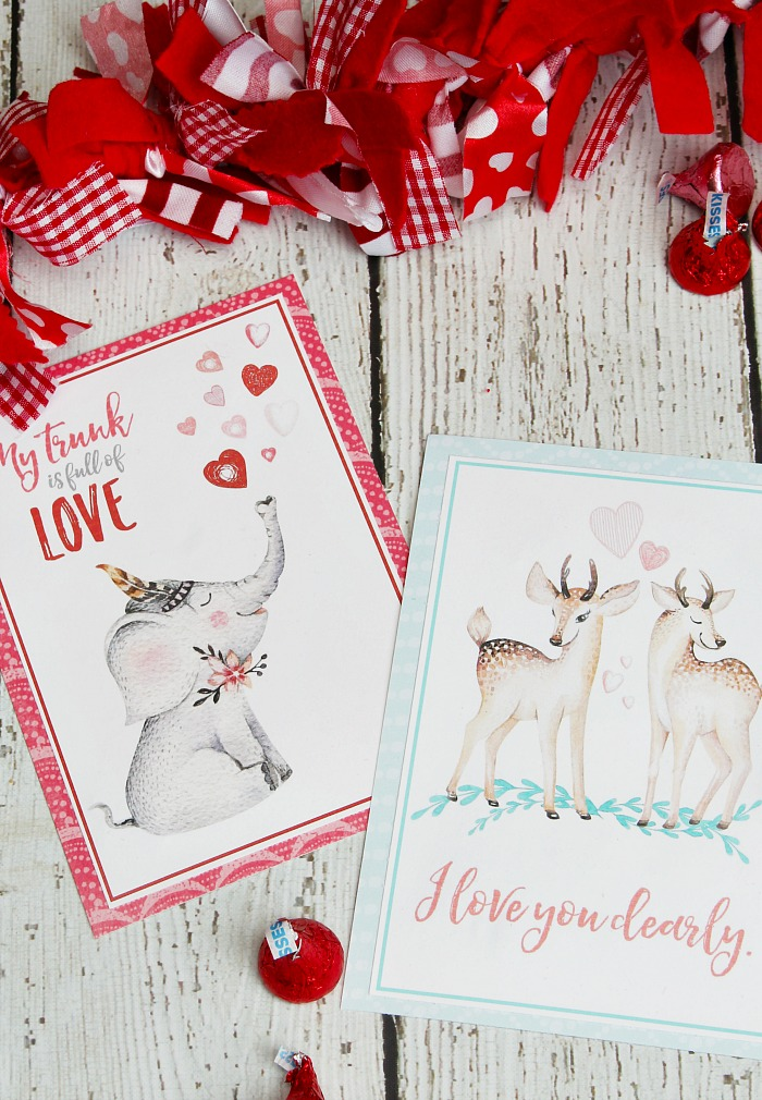 Free Printable Valentine\u0027s Day Cards and Tags - Clean and Scentsible