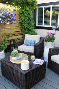Outdoor Living - Summer Patio Decorating Ideas - Clean and ...