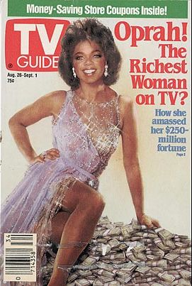 Manipulated Photoshop Photos - Oprah on TV Guide