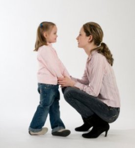 Parenting Talking to Child - Mother Parent