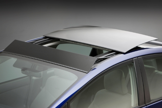 2010 Toyota Prius with Solar Moonroof