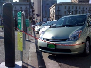 SF City Hall evcharge