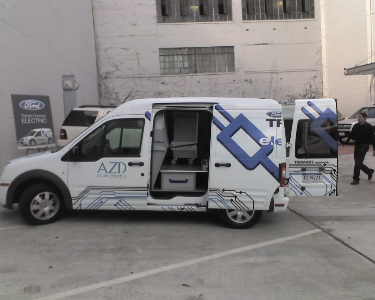 Transit Connect Electric Cargo
