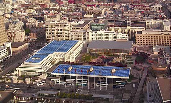 Moscone Center Solar