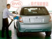 BYD EV charging