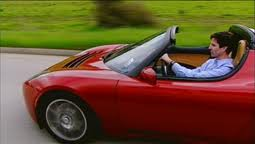 Mark Jacobson Driving Tesla