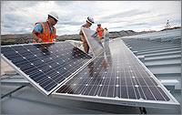 NREL Solar Installed