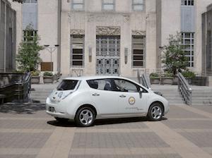 Nissan LEAF Zipcar Houston