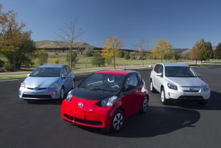 Toyota Electric Car Family