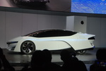 Honda-fuel cell-electric car