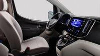 Nissan,e-NV200,electric truck,EV,electric vehicle, interior
