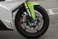 Super brakes are needed to stop a superbike