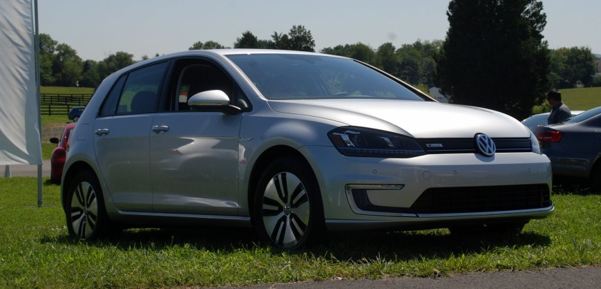 2015 VW, volkswagen,e-Golf,electric car