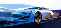 Honda,FCEV,sketch,