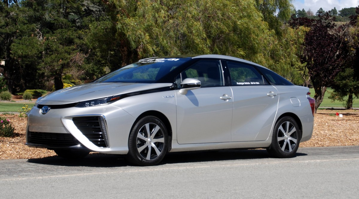 2016, Toyota Mirai,fuel cell vehicle,electric vehicle