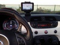 2015 Fiat 500c Abarth TomTom nav system
