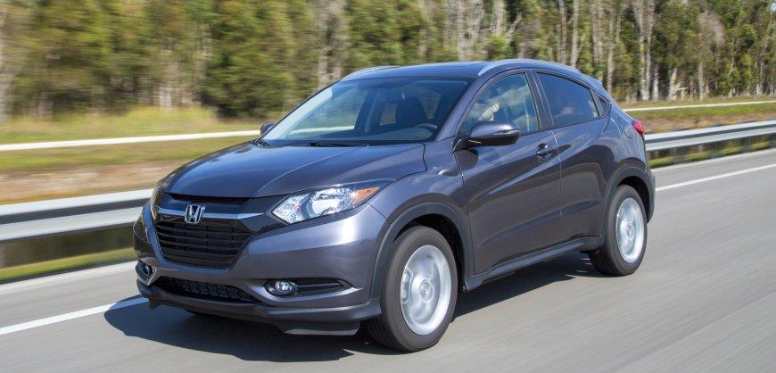 2016,Honda HR-V,AWD,CUV,mpg,fuel economy,crossover