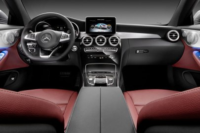 2016,Mercedes,interior,apps