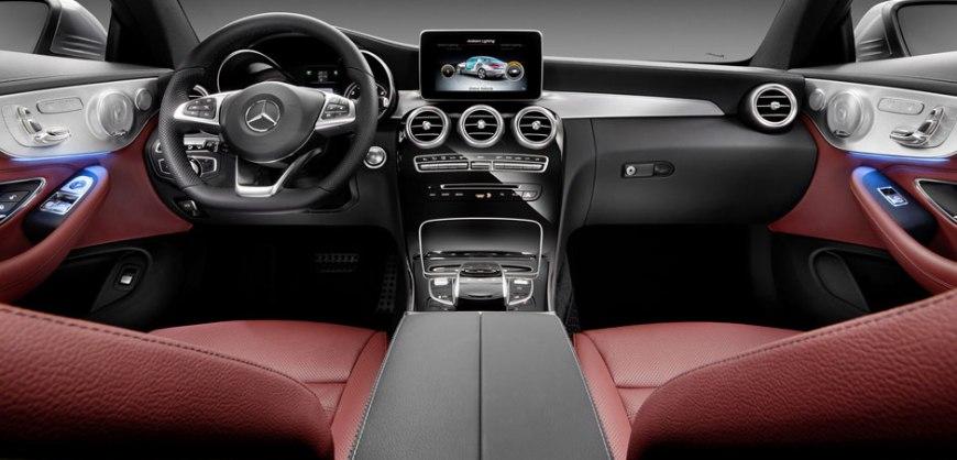 2016,Mercedes,interior,apps
