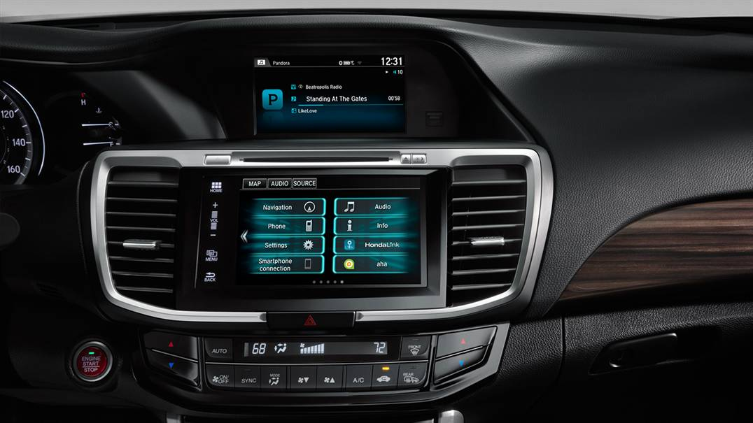 2016 Honda interior