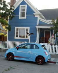 2016 Fiat 500e, EV,electric car, road tst