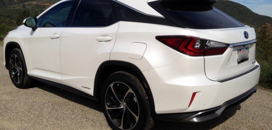 2016, RX RX 450h FWD