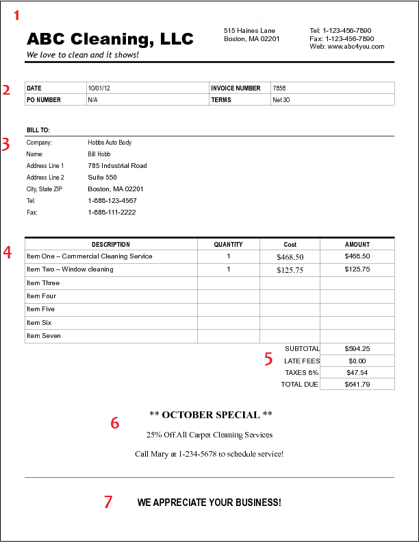 sample agreement for video production services   resume maker, Invoice examples