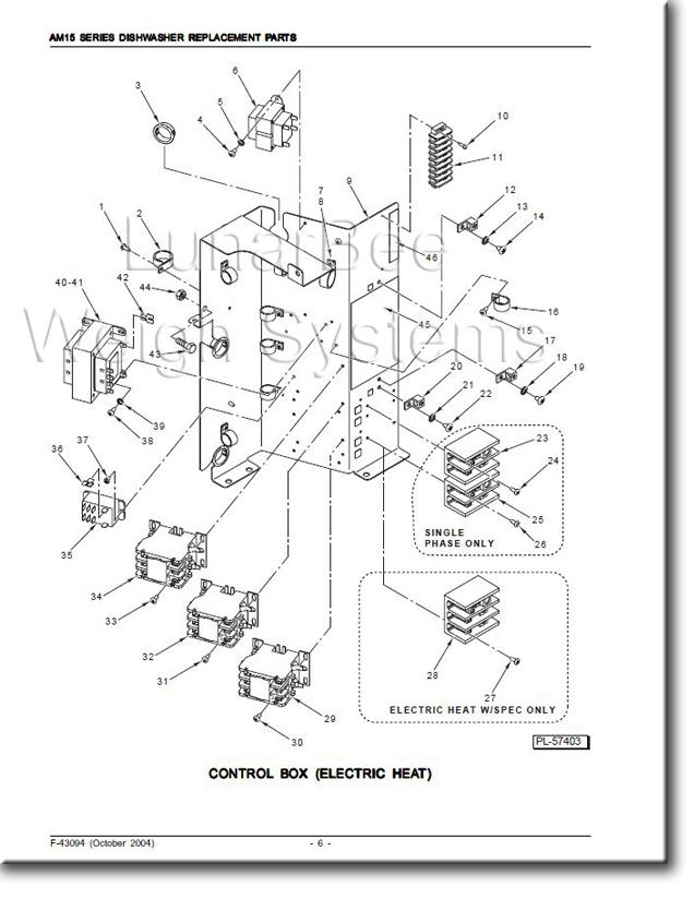 hobart sr24h dishwasher wiring diagram