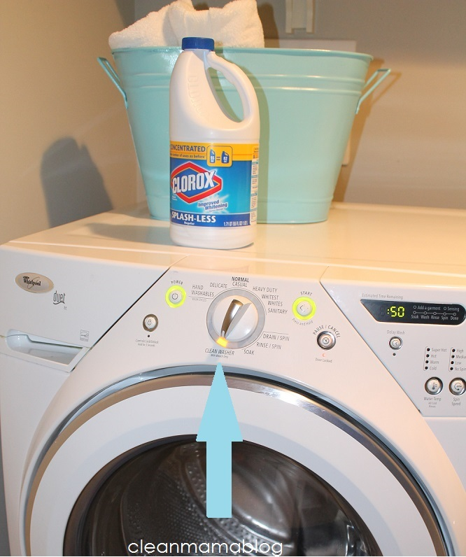 Cleaning Your Washing Machine With Clorox Bleach - Clean Mama
