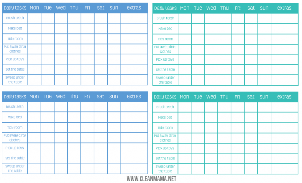 Free Calendar Reminder System Efficient Reminder Free Edition Chore Chart Archives Clean Mama