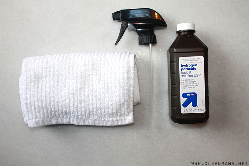 Quick Tip Disinfect With Hydrogen Peroxide Clean Mama