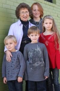 Norma Jean w/ grandkids