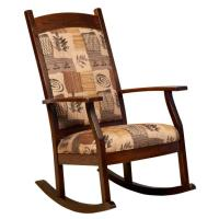 012 Padded Back Upholstered Rocking Chair | Clear Creek ...