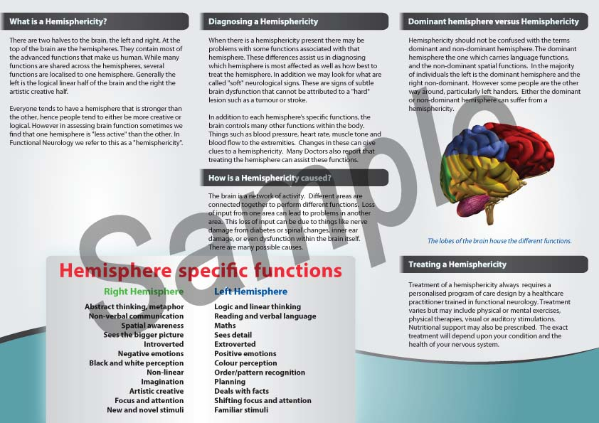 Brochure Samples - Clear Health Media - sample broucher