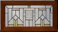 Craftsman Style Stained Glass Designs