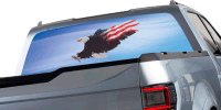 Harley Davidson Rear Window Graphics Vinyl Graphics Car ...