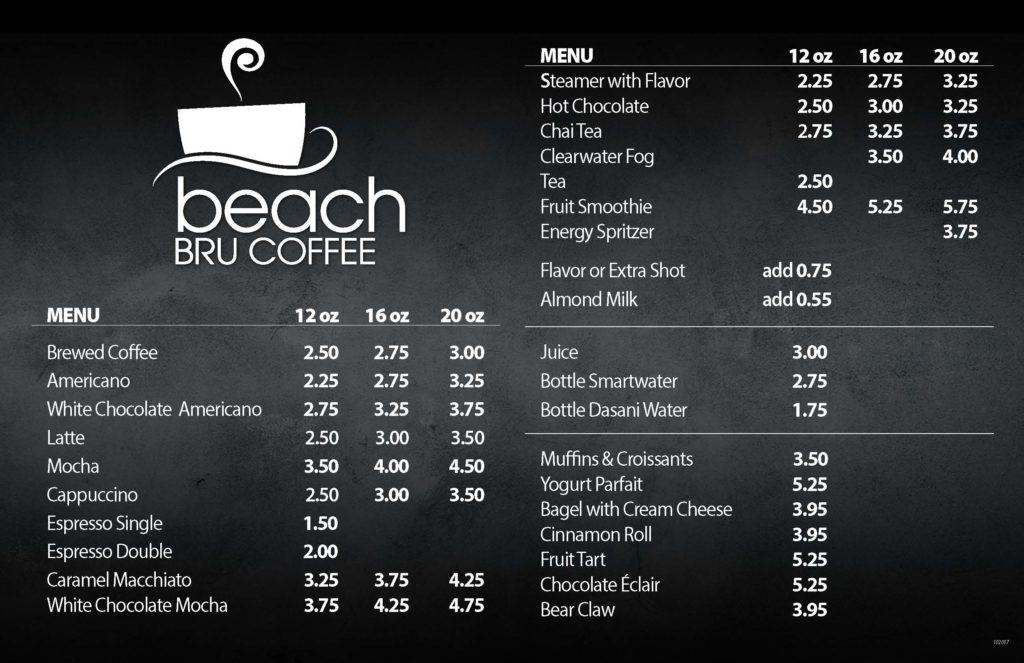 Beach Bru Coffee Suquamish Clearwater Casino Resort