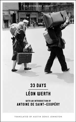 33 DAYS by Léon Werth reviewed by Nathaniel Popkin