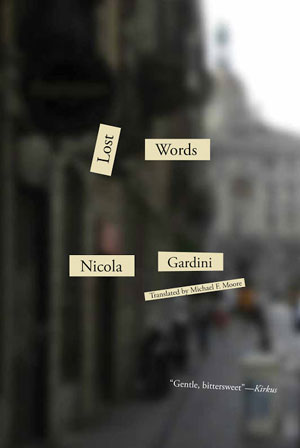 LOST WORDS, a novel by Nicola Gardini, reviewed by Claire Rudy Foster