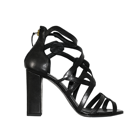 Clelia Tavernier: Hera Black | Shoes,Shoes > Sandals -  Hiphunters Shop