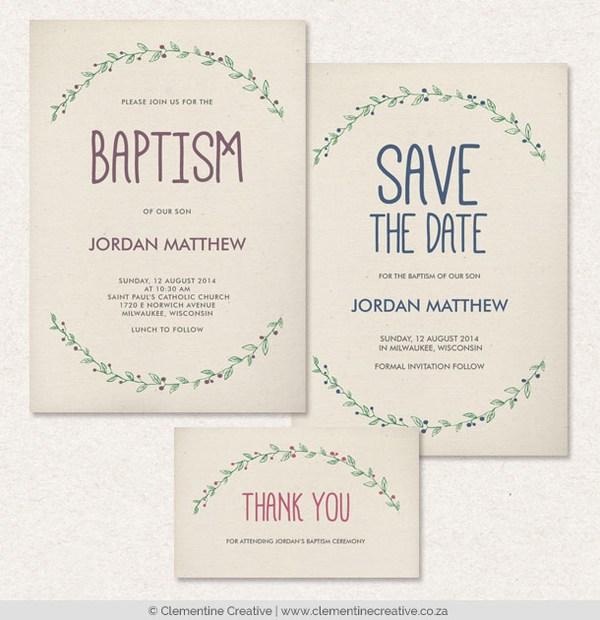 baptism invitations free templates