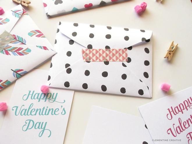 Free Printable Valentine Envelopes