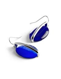 Ocean Blue Cateye Earring | Cleo