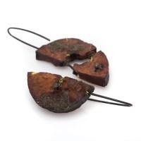 Avocado earrings No.1 - Cleopatra Cosulet