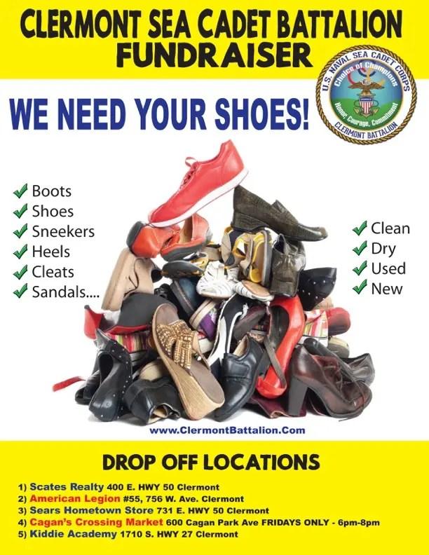 Shoe Drive Fundraiser Clermont Battalion